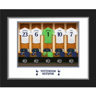 Personalised Tottenham Hotspur FC Goalkeeper Dressing Room Shirts Photo Folder