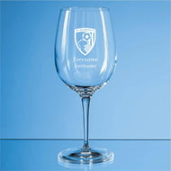 Personalised AFC Bournemouth Crest 480ml Wine Glass