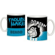 Personalised Beano Big Heads Gnasher Ceramic Mug
