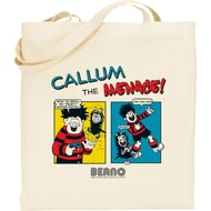 Personalised Beano Classic Comic Strip Water Pistol Tote Bag