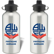 Personalised Bolton Wanderers Bold Crest Water Bottle