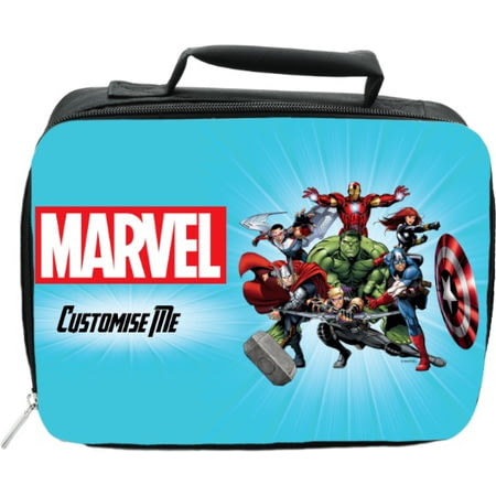 Personalised Marvel Avengers Group Insulated Lunch Bag