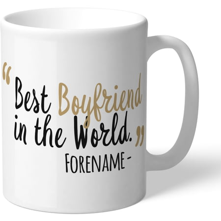 Personalised Newcastle United Best Boyfriend In The World Mug