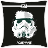 Personalised Star Wars Storm Trooper Paint Cushion - 45x45cm