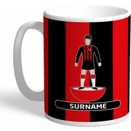 Personalised AFC Bournemouth Player Figure Mug