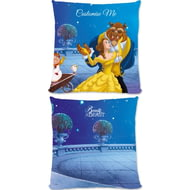 Personalised Disney Beauty And The Beast Balcony Scene Cushion - 45x45cm