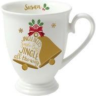 Personalised Jingle Bells Marquee Ceramic Mug