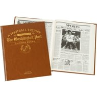 Personalised Chicago Bears American NFL Football Newspaper Book