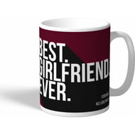 Personalised West Ham United Best Girlfriend Ever Mug