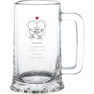 Personalised Chilli & Bubbles New Baby Tankard