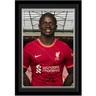 Personalised Liverpool FC Mané Autograph Photo Framed
