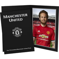 Personalised Manchester United FC Blind Autograph Photo Folder