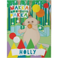 Personalised Makka Pakka Canvas Print