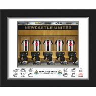 Personalised Newcastle United FC Dressing Room Shirts Photo Folder
