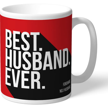 Personalised Southampton Best Husband Ever Mug