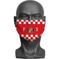 Personalised Sunderland AFC Initials Adult Face Mask