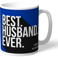 Personalised Brighton & Hove Albion FC Best Husband Ever Mug