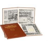 Personalised Harlequins Rugby Newspaper Book