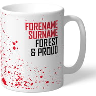 Personalised Nottingham Forest FC Proud Mug