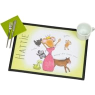 Personalised Princess And Friends - Laminate Mat