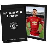 Personalised Manchester United FC Lingard Autograph Photo Folder