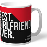 Personalised Nottingham Forest Best Girlfriend Ever Mug
