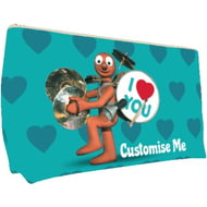 Personalised Morph 'I Love You' Medium Wash Bag