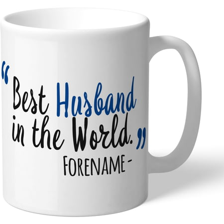 Personalised Chelsea FC Best Husband In The World Mug