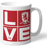 Personalised Middlesbrough Love Mug