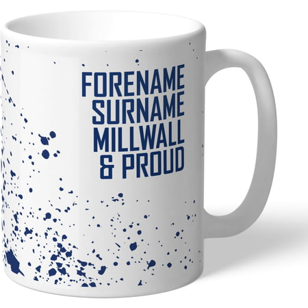 Personalised Millwall FC Proud Mug