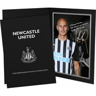 Personalised Newcastle United FC Shelvey Autograph Photo Folder
