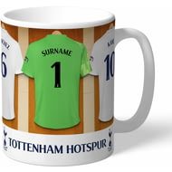 Personalised Tottenham Hotspur FC Goalkeeper Dressing Room Shirts Mug