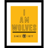 Personalised Wolves FC I Am Print