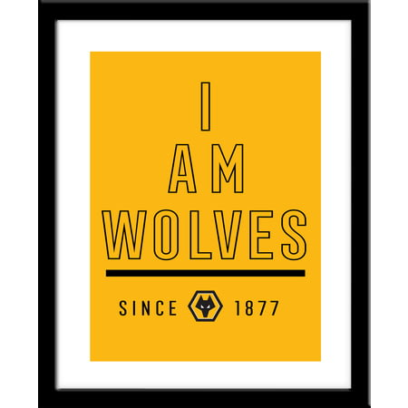 Personalised Wolves FC I Am Framed Print