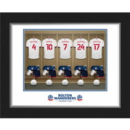 Personalised Bolton Wanderers FC Dressing Room Shirts Photo Folder
