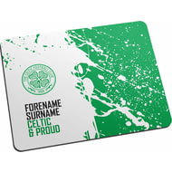 Personalised Celtic FC Proud Mouse Mat