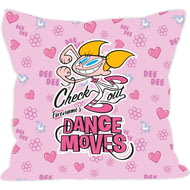 Personalised Dexter's Lab Dance Moves Cushion - 45x45cm