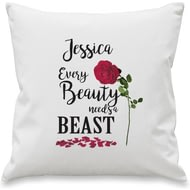 Personalised Every Beauty Cushion Cover