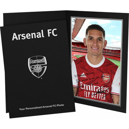 Personalised Arsenal FC Torreira autograph Photo Folder