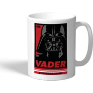 Personalised Star Wars Vader Pop Art Mug